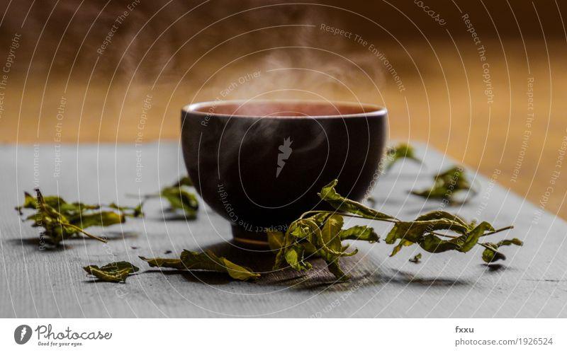Heisser Grüntee schön ästhetisch Getränk Duft exotisch Tee Tasse Vegetarische Ernährung Diät Becher Heißgetränk