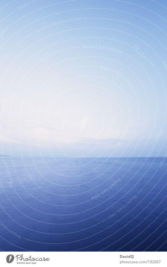 fern sehen Natur Wasser Himmel Meer Ferne Umwelt Horizont Unendlichkeit Ostsee minimalistisch