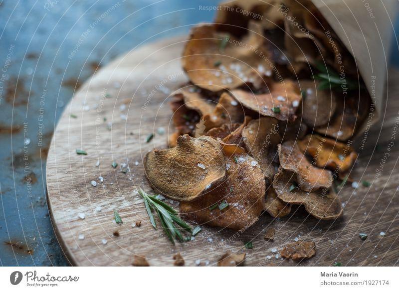 Süßkartoffelchips 2.0 Lebensmittel Gemüse Ernährung Bioprodukte Vegetarische Ernährung Fingerfood lecker natürlich trocken Gemüsechips getrocknet selbstgemacht