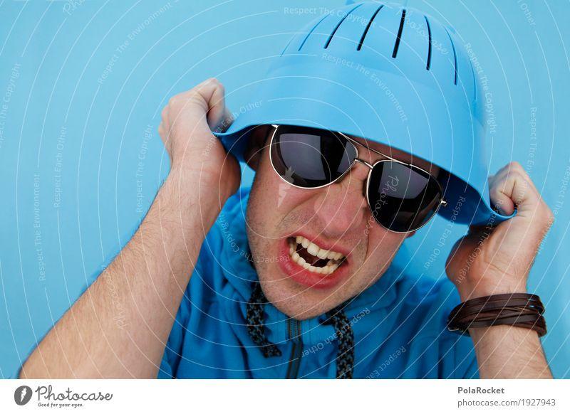 #AS# INCOMING!!! 1 Mensch Handel Mann verrückt Soldat Schalen & Schüsseln dumm Sonnenbrille durchdrehen Psychiatrie psychotisch Psychoterror Psychische Störung