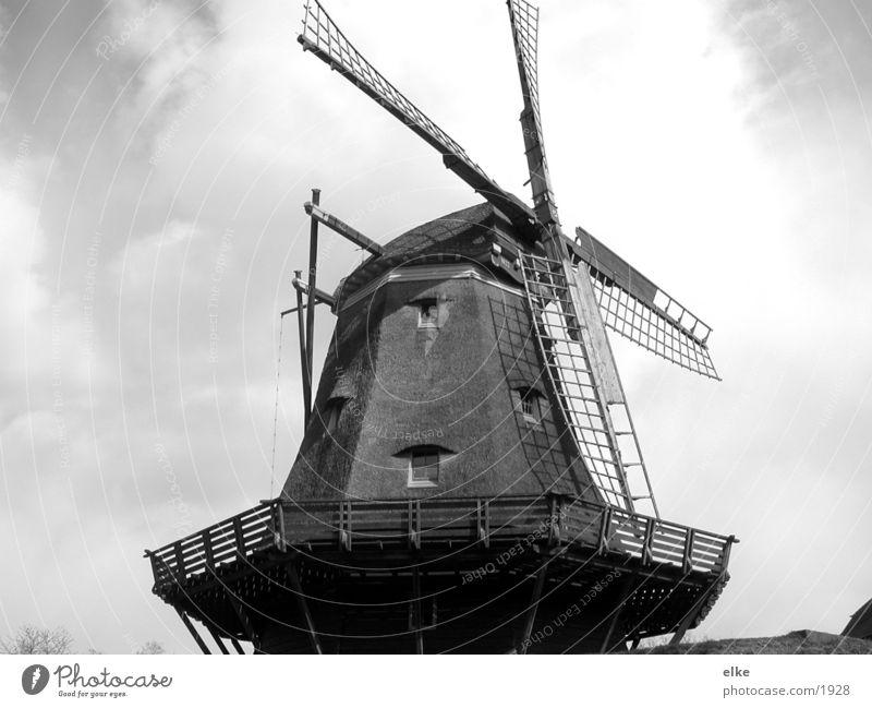 mühle Mühle historisch Schwarzweißfoto