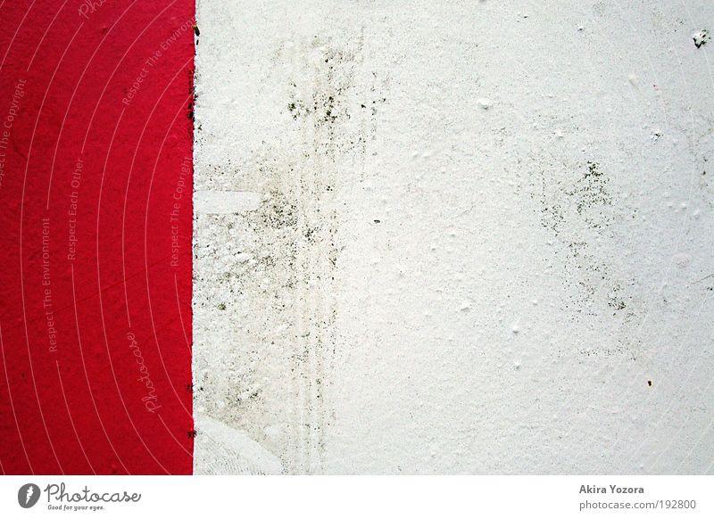 Neues Layout Verkehr Verkehrszeichen Verkehrsschild Zeichen Hinweisschild Warnschild Denken gehen Spielen Aggression alt authentisch dreckig rebellisch rot weiß