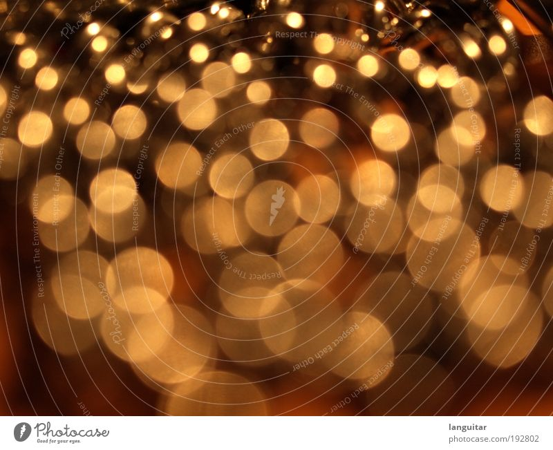 Bokeh to Infinity gelb gold Kreis Rauschmittel Kette Rausch Tiefenschärfe abstrakt Makroaufnahme Reflexion & Spiegelung Objektiv Unschärfe Drogenrausch
