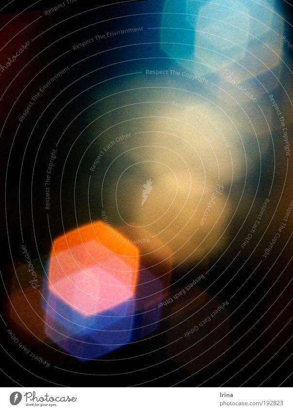 ohne Umschweife blau orange rosa Nebel Weltall analog Schmuck aufsteigen Kristallstrukturen Fortschritt Diamant Blendenfleck Bochum Edelstein Himmelskörper & Weltall Muster