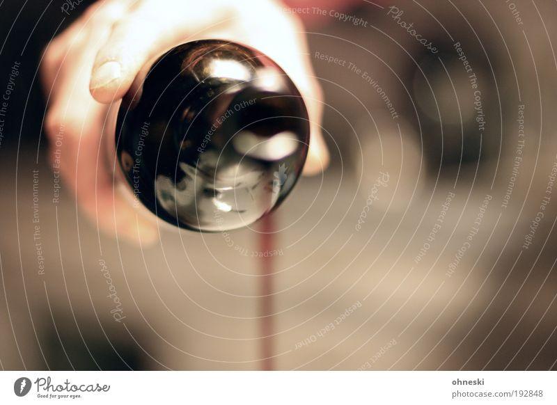 Ich geb´einen aus! Hand rot Freude Gefühle Lebensmittel Stimmung Zufriedenheit Getränk Finger Warmherzigkeit weich trinken Wein Weinflasche Abendessen Alkohol