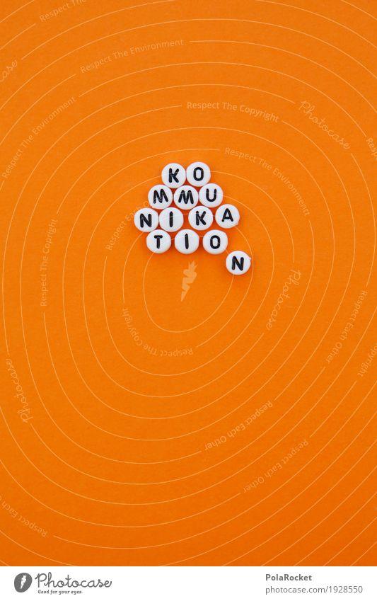 #AS# Kommunikation II Kunst Kunstwerk ästhetisch orange Telekommunikation sprechen Kreativität Text Typographie Design Designer Designwerkstatt Designerleuchte