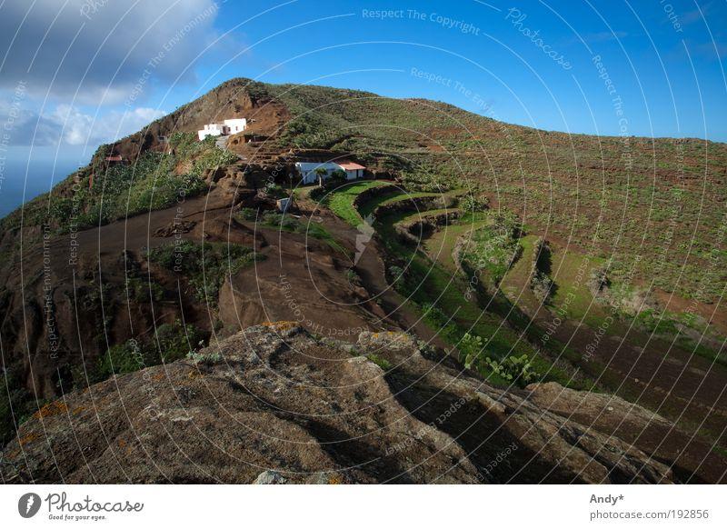 Chinamada Himmel Natur grün blau Ferien & Urlaub & Reisen Wolken Haus Ferne Berge u. Gebirge Landschaft Stein braun Erde Freizeit & Hobby Ausflug Felsen