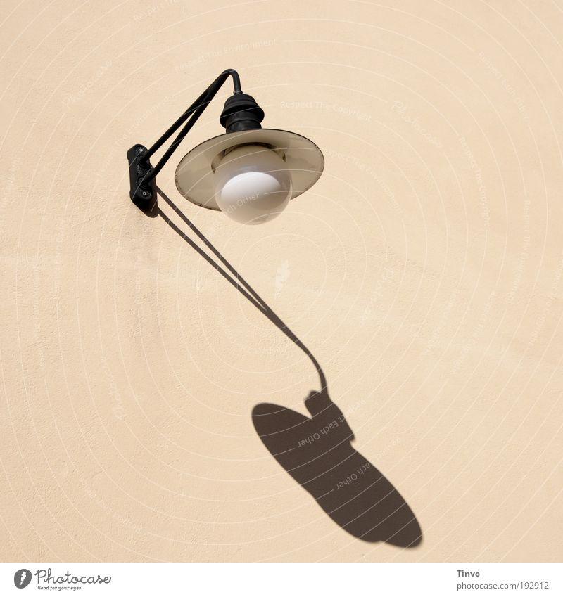 Licht- und Schattenspender weiß schwarz Lampe Wand Beleuchtung rosa Design Lifestyle Energiewirtschaft Elektrizität einfach Dekoration & Verzierung