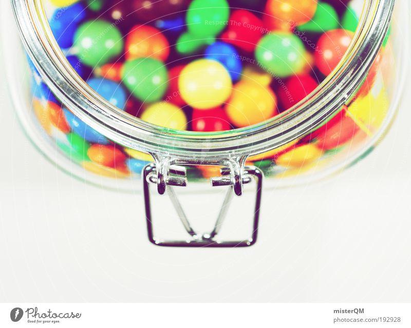 Oma's Beste. Medien Kino ästhetisch Süßwaren Topf lecker Zucker süß unlogisch Kalorie Dickmacher Schokolade mehrfarbig Bonbon rund lutschen Glas Eyecatcher