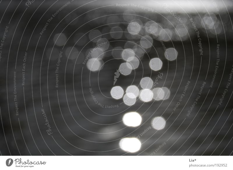 Licht im Dunkel Wasser ruhig schwarz Einsamkeit Tod See Angst glänzend Hintergrundbild elegant Hoffnung Ende Wandel & Veränderung Surrealismus Glaube Sucht