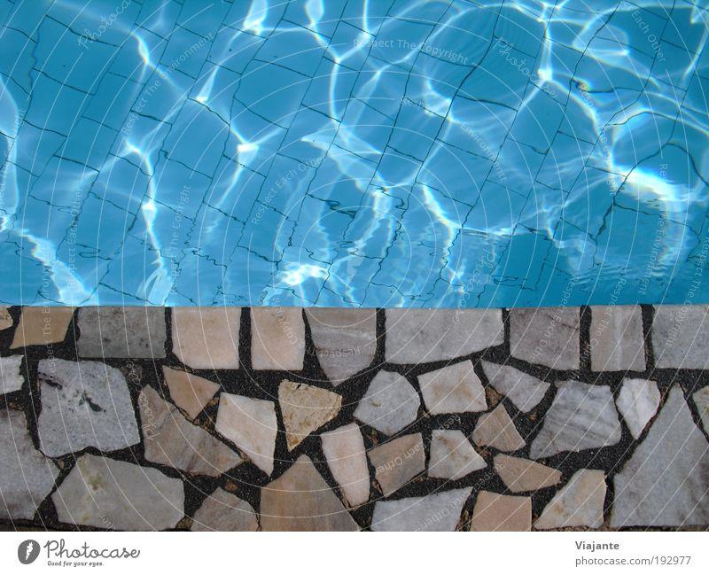 BRA 2010 - Pool blau Wasser Ferien & Urlaub & Reisen Sonne Sommer ruhig Erholung Tourismus Schwimmbad Wellness Schönes Wetter tauchen Sommerurlaub Sonnenbad Wohlgefühl Feierabend