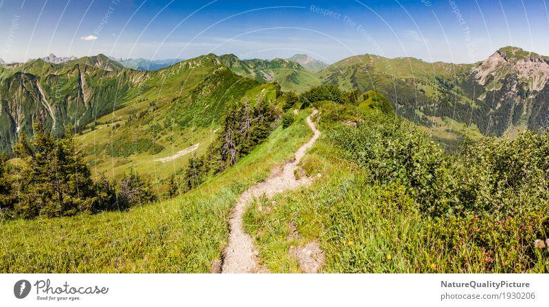 trail outside - kleinwalser velley - europe Natur Lifestyle Sport wandern Fitness Motivation extrem Gelände