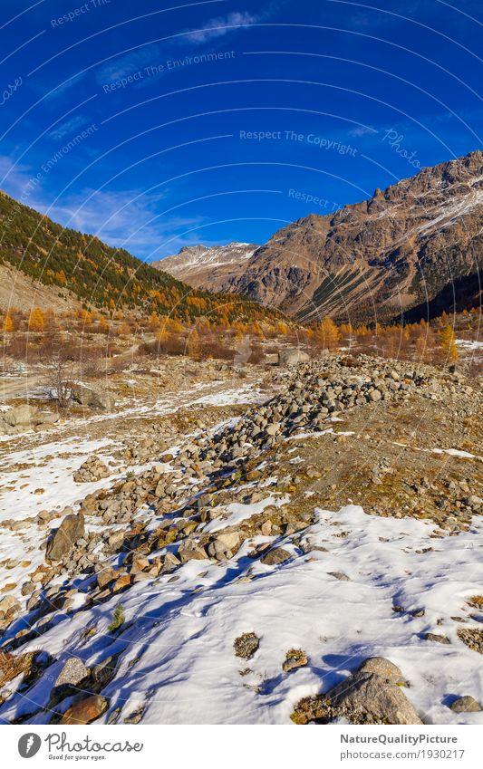 trail to morteratsch glacier Leben harmonisch Wohlgefühl Zufriedenheit Erholung ruhig Meditation Freizeit & Hobby Ferien & Urlaub & Reisen Tourismus Ausflug