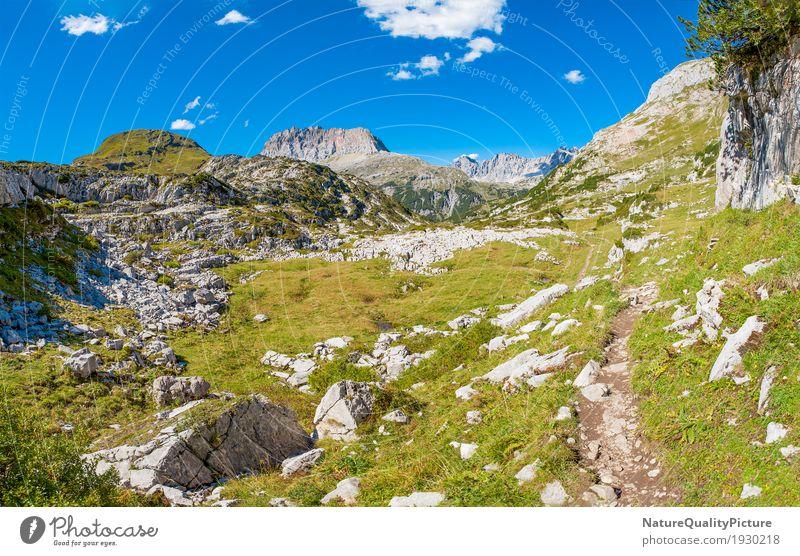 amazing lechvelley - austria Himmel Natur Ferien & Urlaub & Reisen Pflanze blau Sommer grün Sonne Landschaft Erholung Wolken ruhig Ferne Berge u. Gebirge Wärme