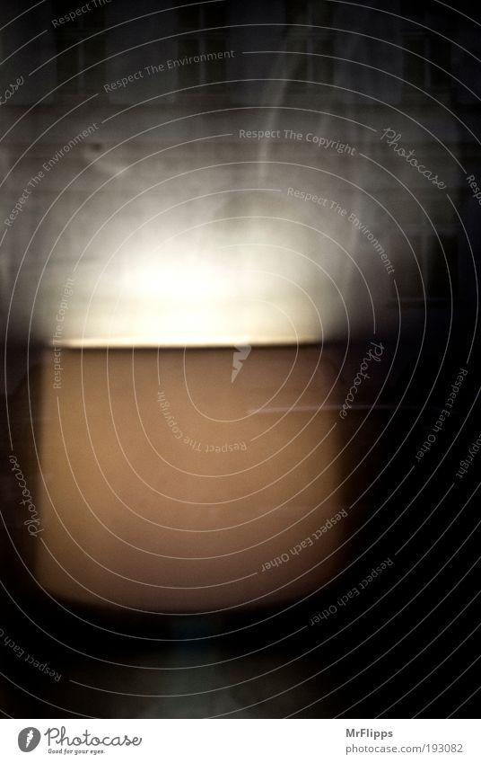 Schein Haus Fenster Überraschung Interesse Lampenschirm Lampe