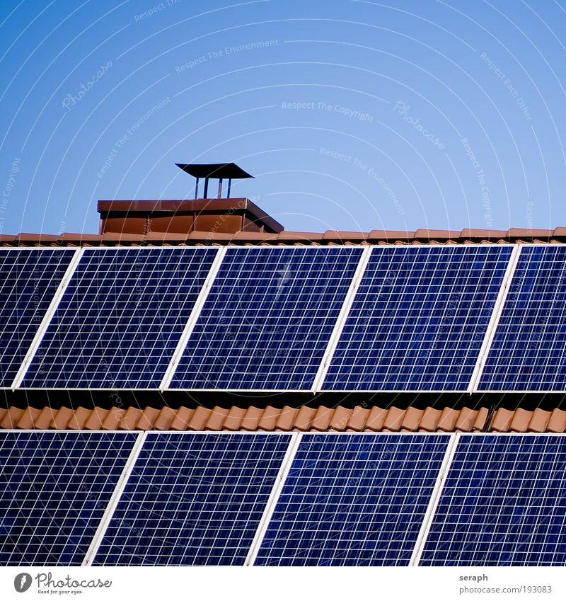 Energie Sonne Umwelt Energie Energiewirtschaft Elektrizität Dach Gebäude innovativ System Einladung regenerativ