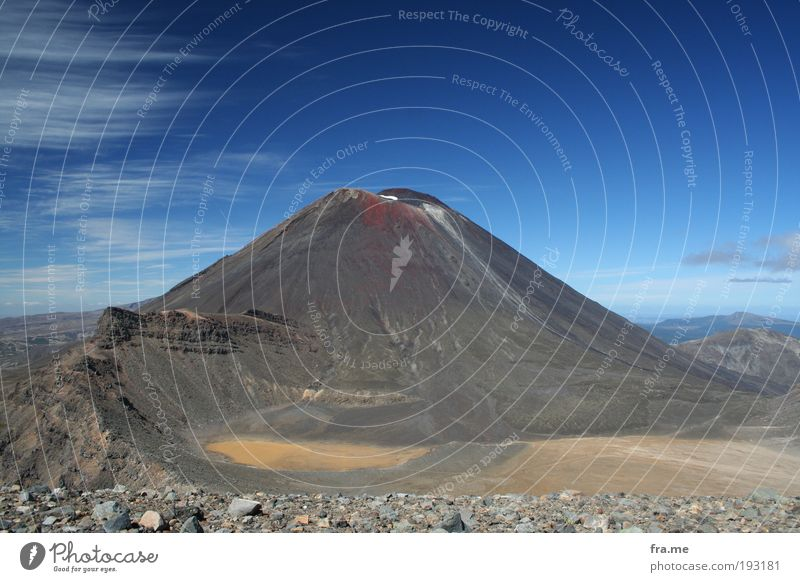 Mt Ngauruhoe aka Mount Doom Ferien & Urlaub & Reisen Ferne Freiheit Berge u. Gebirge Glück Erde Erfolg Urelemente entdecken Schönes Wetter Respekt Vulkan