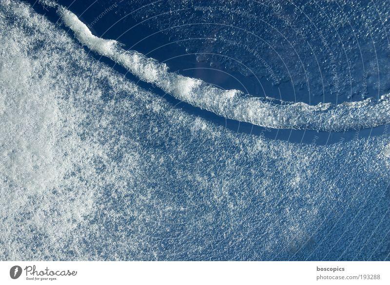ice age Wasser Himmel weiß blau Winter Schnee Eis Coolness Frost