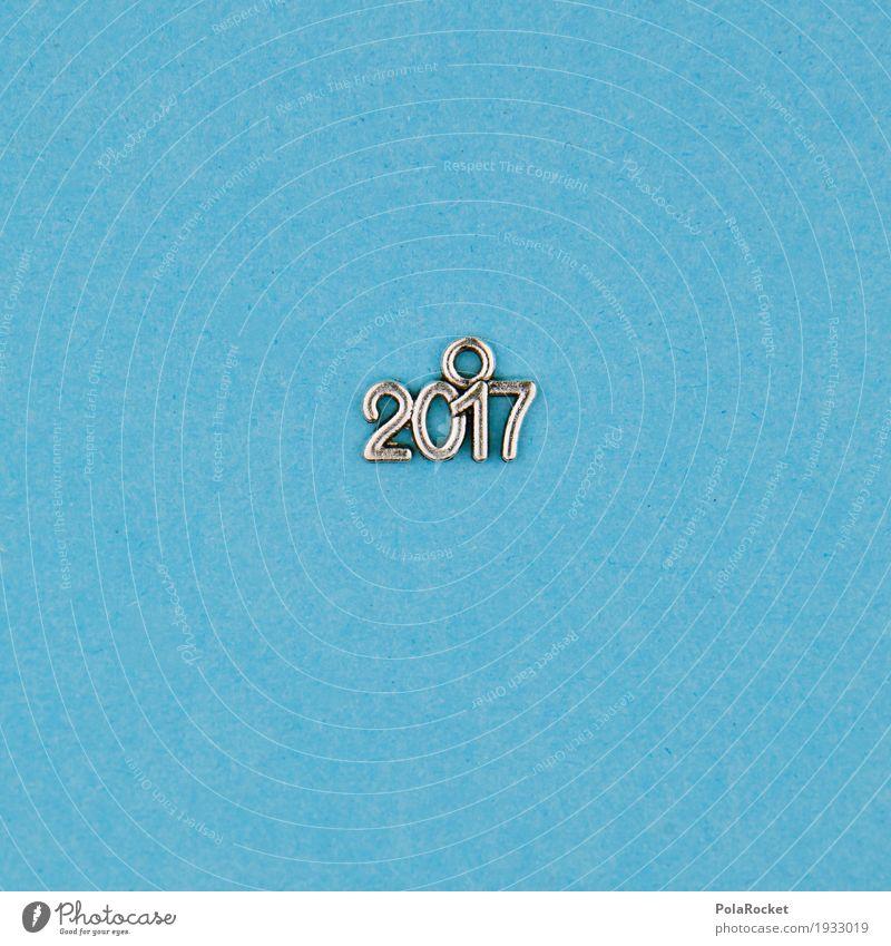 #A# 2017° Kunst ästhetisch blau Ziffern & Zahlen Design Farbfoto mehrfarbig Innenaufnahme Studioaufnahme Nahaufnahme Detailaufnahme Experiment abstrakt