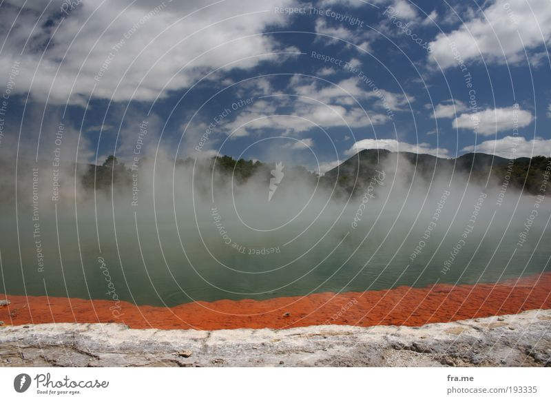 Roturua Wonderland Dampfbad Ferien & Urlaub & Reisen Freiheit Sommer Natur Landschaft Schönes Wetter schön einzigartig Neuseeland Farbfoto Außenaufnahme