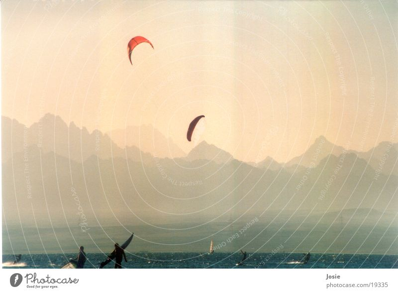 Kyten2 Meer Berge u. Gebirge Sand Abenddämmerung Ägypten Afrika
