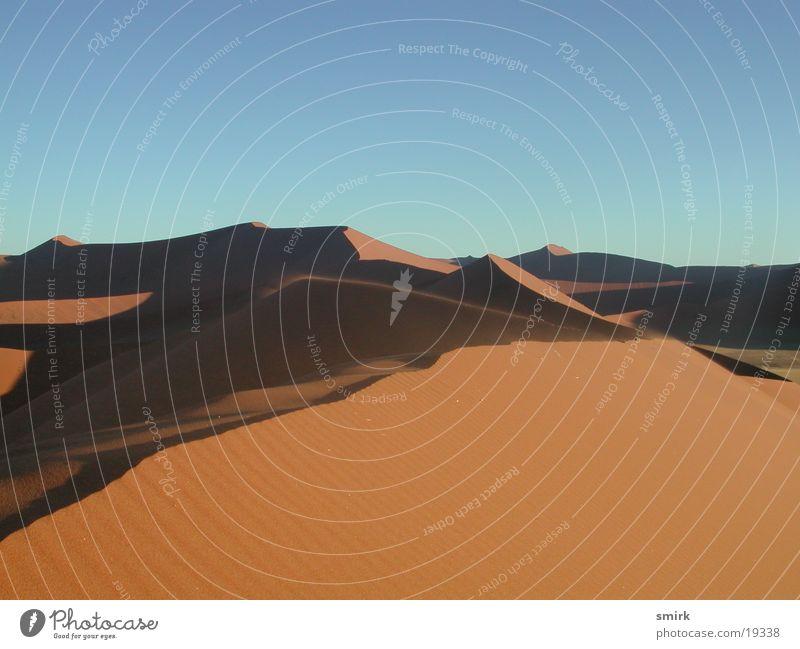 Düne 45 Afrika Sonnenuntergang Stranddüne Sand