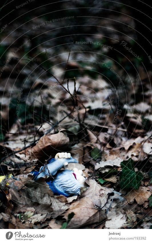 Halb begraben Handwerker Gartenarbeit Friedhof Dienstleistungsgewerbe Arbeitslosigkeit Ruhestand Feierabend Umwelt Pflanze Erde Winter schlechtes Wetter