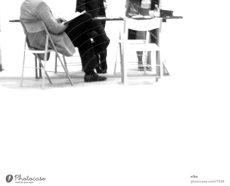 geschäftig sprechen Mensch Mann Management Arbeit & Erwerbstätigkeit Büro Business planen Unternehmen Tisch Stuhl Sitzung schreiben Beratung