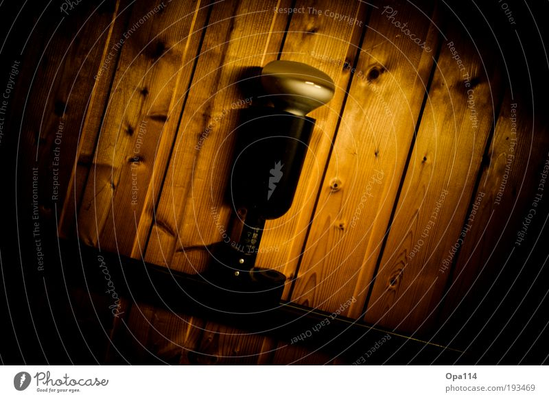 Put your lights on! schwarz gelb dunkel braun Glas gold Energie Kunststoff