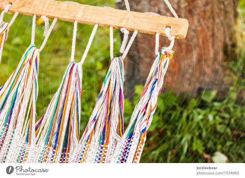 Füße hochlegen Natur Sommer Erholung ruhig Garten Freizeit & Hobby träumen liegen Gelassenheit hängen geduldig friedlich Hängematte
