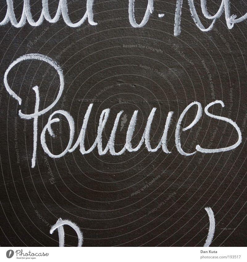 Jetzt 'ne ordentliche ... Ernährung Stein Schriftzeichen Speise schreiben Restaurant lecker Appetit & Hunger skurril genießen Kreide Wort Nordrhein-Westfalen Informationstechnologie Futter Bildausschnitt