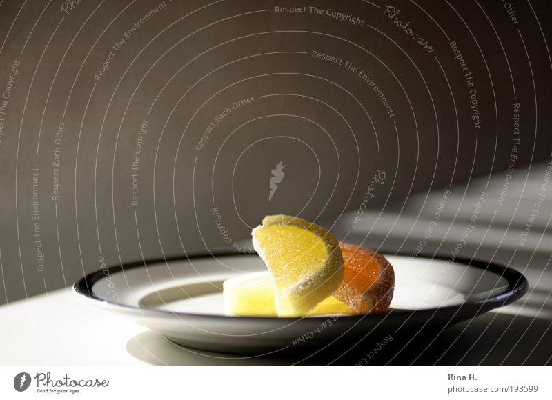 Vitiamine Ernährung gelb Orange Gesundheit Frucht ästhetisch süß Lebensfreude leuchten lecker Süßwaren Teller Leichtigkeit saftig Vitamin sauer