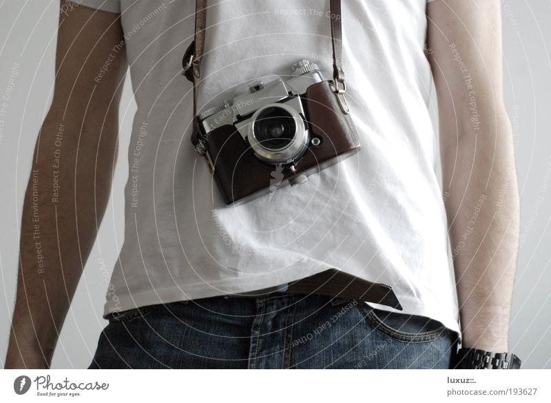 Bauchgefühl Tourismus T-Shirt Souvenir entdecken festhalten Freizeit & Hobby Kommunizieren Nostalgie Fotografie Photo-Shooting camera Fotografieren Tourist