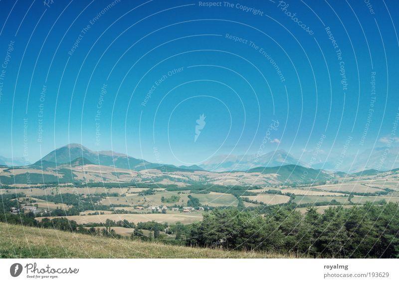 Am Rande der Provence Natur Himmel Sommer Ferien & Urlaub & Reisen Wald Berge u. Gebirge Landschaft warten Umwelt Alpen Gipfel Frankreich Umweltschutz