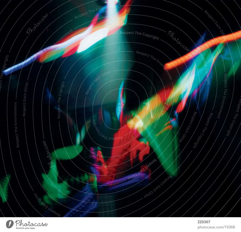 bunt Lightshow mehrfarbig Freizeit & Hobby Reflexion & Spiegelung Farbe