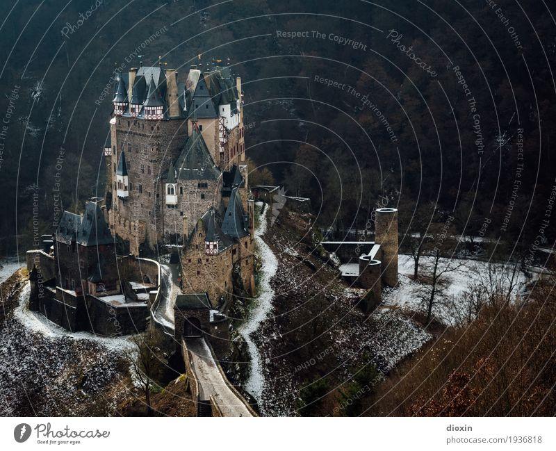 what eltz?! [4] Ferien & Urlaub & Reisen alt Winter dunkel Wald Berge u. Gebirge Schnee außergewöhnlich Tourismus Ausflug wandern authentisch hoch historisch