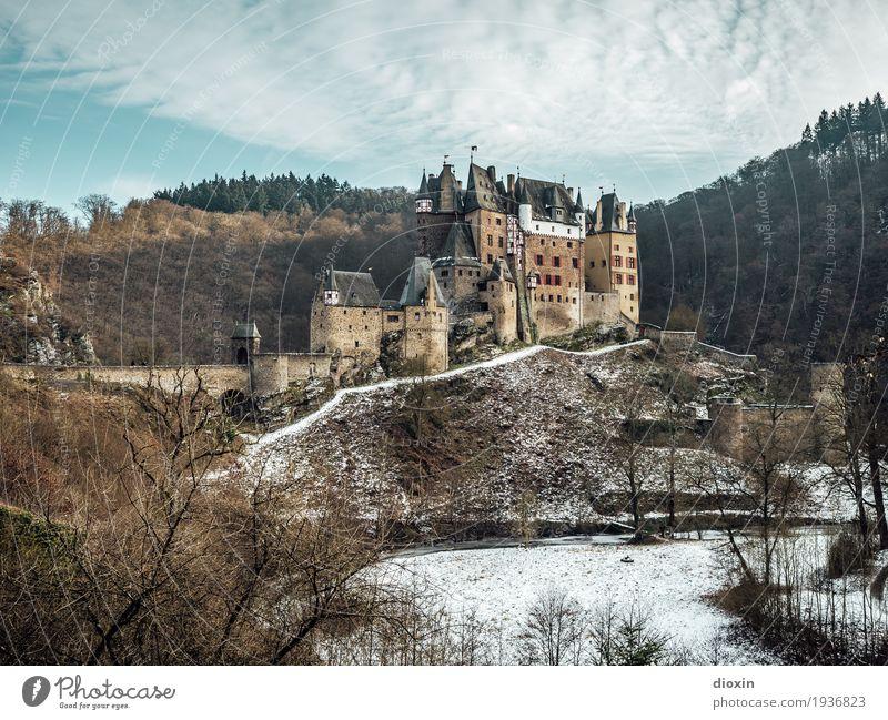 What Eltz [6] Ferien & Urlaub & Reisen Tourismus Ausflug Sightseeing Winter Schnee Berge u. Gebirge wandern Umwelt Natur Landschaft Pflanze Himmel Wolken Baum