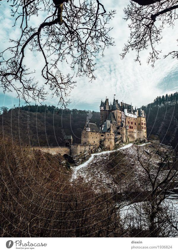 what eltz?! [2] Himmel Natur Ferien & Urlaub & Reisen alt Baum Landschaft Wolken Winter Wald Berge u. Gebirge Umwelt Schnee außergewöhnlich Tourismus Ausflug