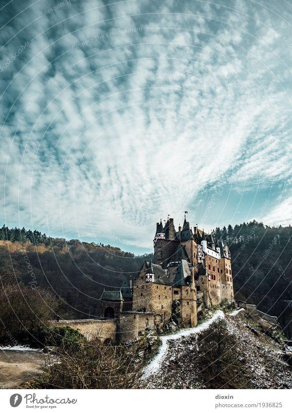 what eltz?! [1] Himmel Natur Ferien & Urlaub & Reisen alt Landschaft Wolken Winter Wald Berge u. Gebirge Umwelt Schnee Tourismus Ausflug wandern authentisch