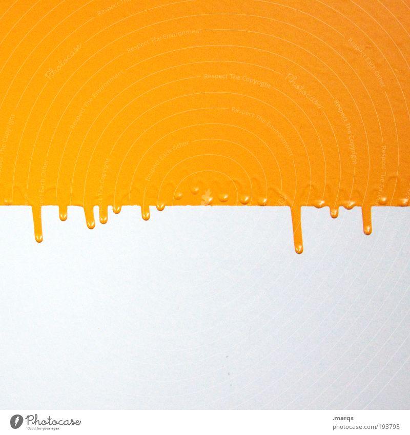 Eigelb weiß gelb Farbe Wand Stil Mauer abstrakt Hintergrundbild Design elegant Lifestyle ästhetisch Lebensmittel Muster einfach Dekoration & Verzierung