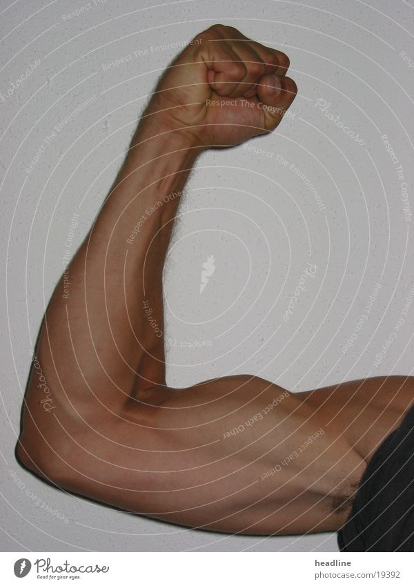 kraftarm Mensch Mann Kraft Arme Muskulatur