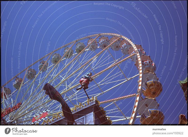 rund her rum Natur Freude Erwachsene Umwelt Wiese Stil Luft träumen Park Freizeit & Hobby Tourismus Platz Lifestyle Schönes Wetter Technik & Technologie Kitsch