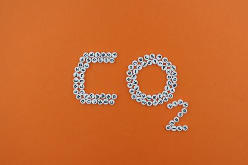 #AS# CO2 Kunst Kunstwerk ästhetisch Kohlendioxid CO2-Ausstoß Klima Klimawandel Klimaschutz Klimagipfel Buchstaben Mosaik Kreativität Design orange nachhaltig