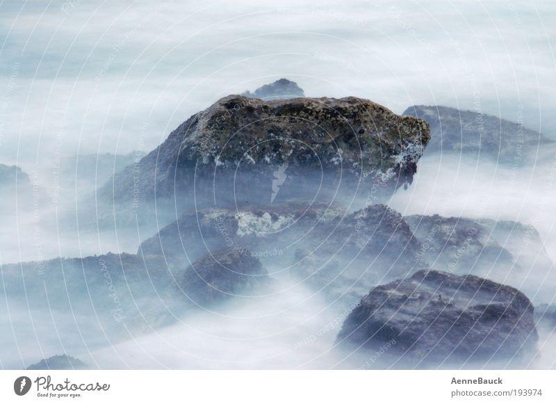 MeerGischt Wasser Meer Sommer Strand Ferien & Urlaub & Reisen Wellen Küste Nebel Wassertropfen Insel Freizeit & Hobby Sehnsucht Bucht Spanien Spa