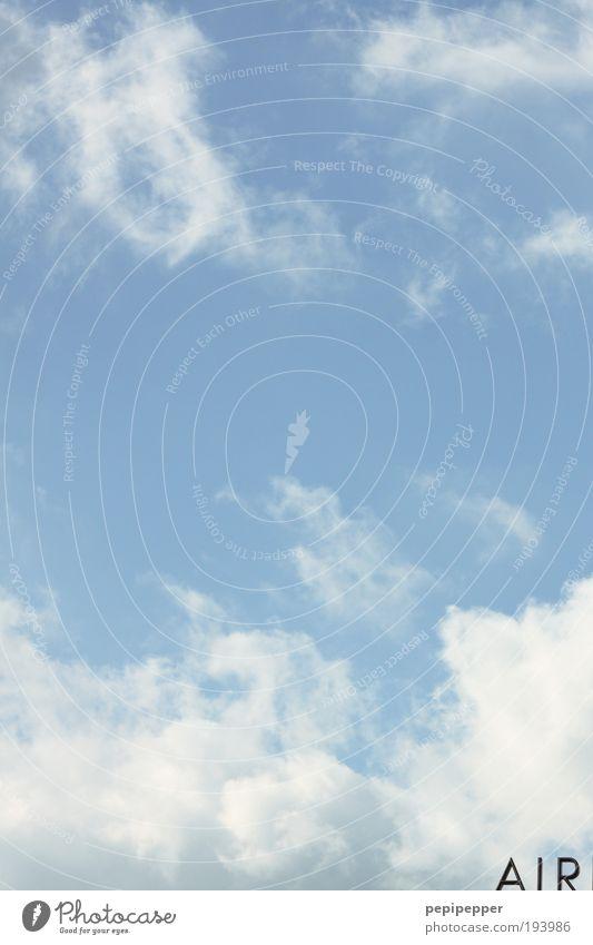 Love is in the... Himmel blau Sonne Ferien & Urlaub & Reisen Sommer Wolken Ferne Luft Ausflug Flugzeug Luftverkehr Flughafen Globus Sommerurlaub Landkarte