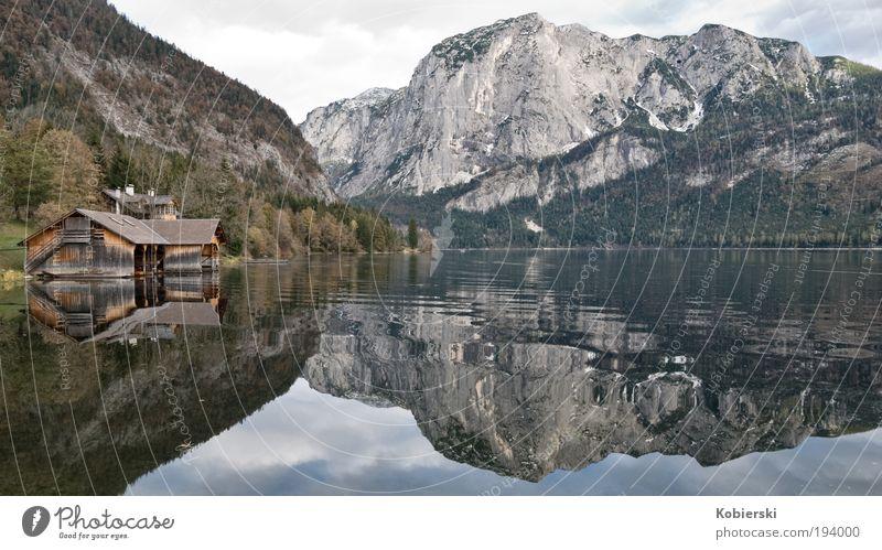 Altaussee Wasser schön ruhig Wolken Einsamkeit Erholung Herbst Berge u. Gebirge See Stimmung ästhetisch Tourismus einzigartig außergewöhnlich Wert