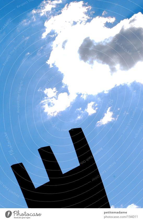 Himmel weiß Sonne Wolken Luft hell Beleuchtung 3 frisch Bauwerk Bildausschnitt