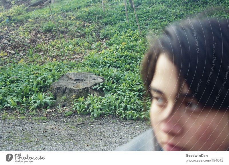 **50** Mensch Natur Jugendliche Baum kalt Erholung feminin Glück Park Denken Zufriedenheit Zusammensein Erwachsene Wetter Umwelt