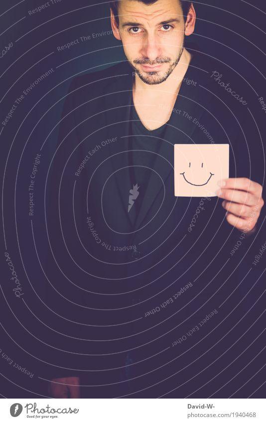 Smile Mensch Jugendliche Mann Junger Mann Erwachsene Leben Lifestyle Stil lachen Glück Business Zufriedenheit maskulin Erfolg Fröhlichkeit Lächeln