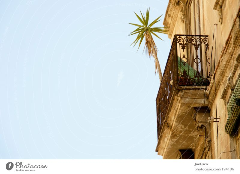 let the sunshine in... schön Sonne Sommer Ferien & Urlaub & Reisen Haus Erholung Wand Mauer Wärme Fassade Lifestyle Tourismus Häusliches Leben Balkon Spanien